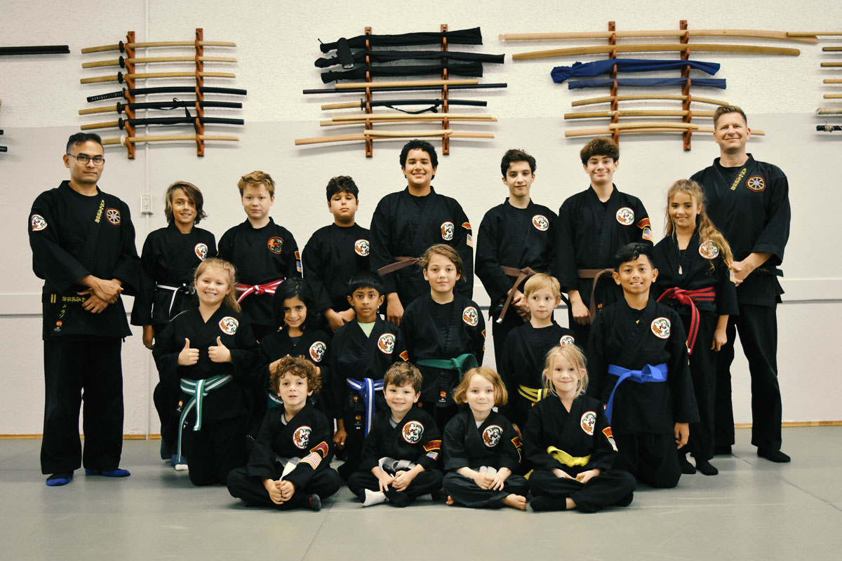 kids martial arts program
